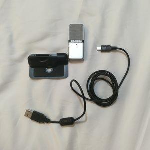 Samson go mic computer USB microphone clip attach